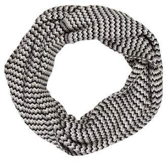 Calvin Klein Patterned Infinity Knit Scarf