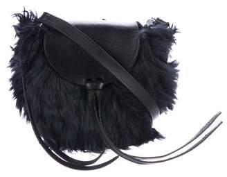 Rachel Comey Leather-Trimmed Crossbody Bag