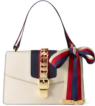 Sylvie leather shoulder bag $2,490 thestylecure.com