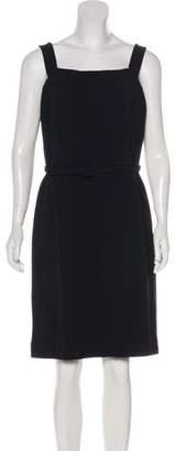 Oscar de la Renta Wool Knee-Length Dress w/ Tags