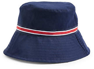 Topshop Striped Bucket Hat