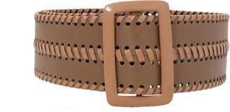 Oscar de la Renta Thick Leather Belt