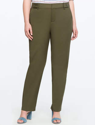 ELOQUII Sam Double-Weave Pant