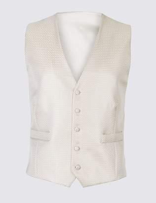 Marks and Spencer Jacquard Waistcoat