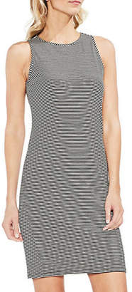 Vince Camuto Chantelle Pinstriped Shift Dress