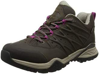 The North Face Women's Hedgehog Hike II Gore-Tex Low Rise Boots, (Bone Brown/Wild Aster Purple 4Ns), (41.5 EU)