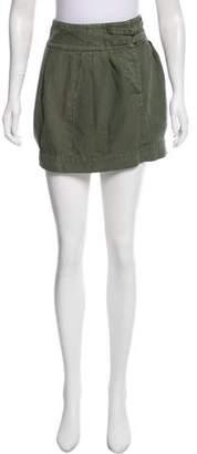 Nili Lotan Pleated Mini Skirt