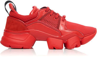 Givenchy Jaw Low-Top Leather Sneakers
