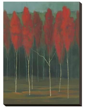 Autumn Splendor By Julie Joy Stretched Unframed Wall Canvas