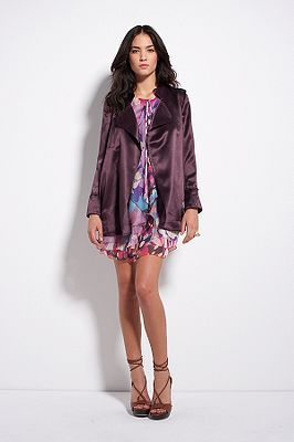 Chefly Jacket in Deep Anenome