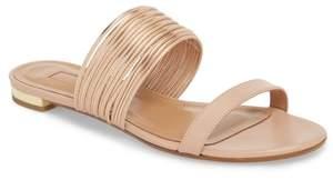 Aquazzura Rendezvous Metallic Sandal