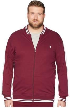 Polo Ralph Lauren Big Tall Interlock Track Bomber Jacket Men's Clothing