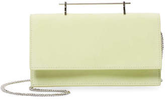 M2Malletier Alexia Leather & Suede Clutch