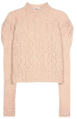 McQ Mohair-blend knitted sweater