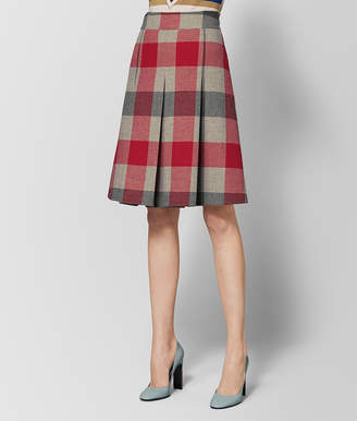 Bottega Veneta MULTICOLOR WOOL SKIRT