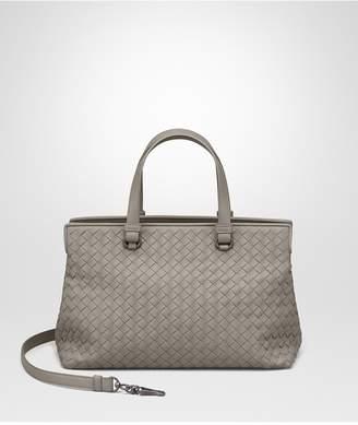 Bottega Veneta Fume Intrecciato Nappa Medium Top Handle Bag