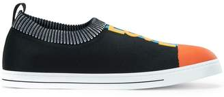 Fendi Love slip-on sneakers