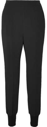 Stella McCartney Julia Stretch-cady Track Pants - Black