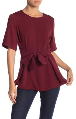 Nine West Tie Front Blouse