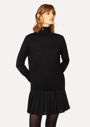 Paul Smith Women's Black Wool Roll-Neck Sweater