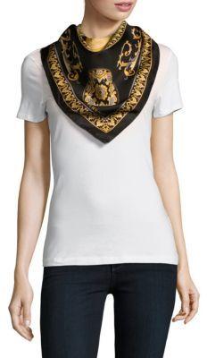 VersacePrinted Foulard Scarf