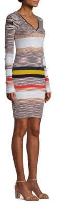 Missoni Cashmere Striped Sweater Dress