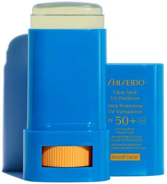 Shiseido Clear Stick UV Protector SPF 50 WETFORCE
