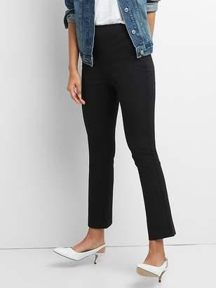 Gap High Rise Crop Flare Pants with Bi-Stretch