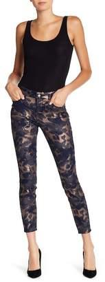 NYDJ Ami Print Skinny Ankle Jeans