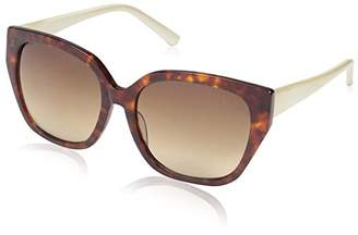Society New York Women's Angular Square Sunglasses