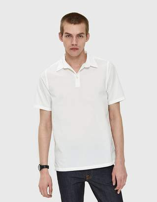 Norse Projects Theo Seersucker SS Shirt in White
