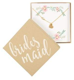 Cathy's Concepts Wedding Party Bridesmaid Special Gift Charm Necklace