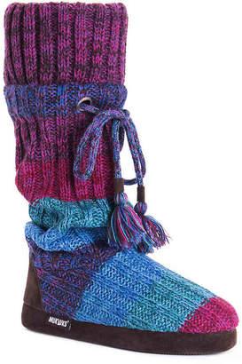 Muk Luks Avril Boot Slipper - Women's