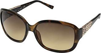GUESS Women's Acetate Rectangle Square Sunglasses