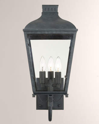Crystorama Dunmont Outdoor 3-Light Sconce