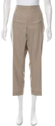 Akris Punto High-Rise Khaki Pants