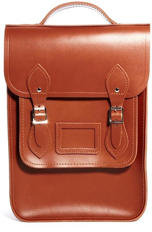 The Cambridge Satchel Company Cambridge Satchel Portrait Backpack - Brown