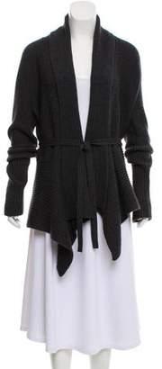 Lafayette 148 Belted Wool Cardigan