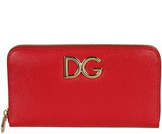 Dolce & Gabbana Logo Zip-around Wallet