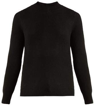 A.p.c. - Maia Wool Blend Knit Jumper - Womens - Black