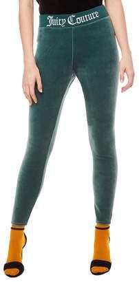 Juicy Couture Juicy Jacquard Stretch Velour Legging