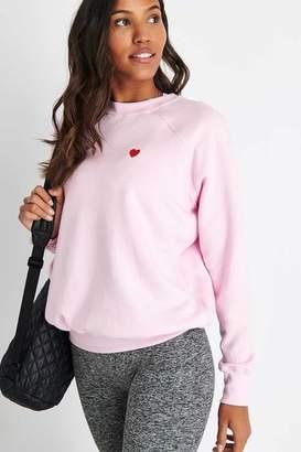 Spiritual Gangster G Love Classic Crew Sweatshirt Pink Iris - XS