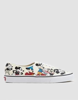 Vans Disney Authentic Mickey's Birthday Sneaker