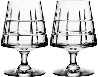Orrefors Street Specialty Drinkware by Jan Johansson Cognac Glass, Set of 2