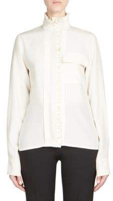 Chloé High-Neck Blouse