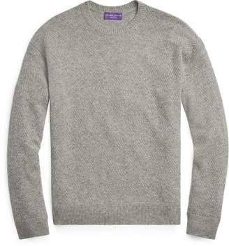 Ralph Lauren Diamond-Knit Cashmere Sweater