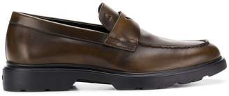 Hogan classic laceless loafers