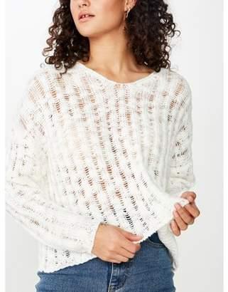 Cotton On Oakleigh Open Ladder Pullover