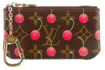 Louis Vuitton Louis Vuitton Cerises Key Pouch