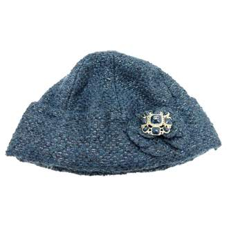 Chanel Blue Synthetic Hats